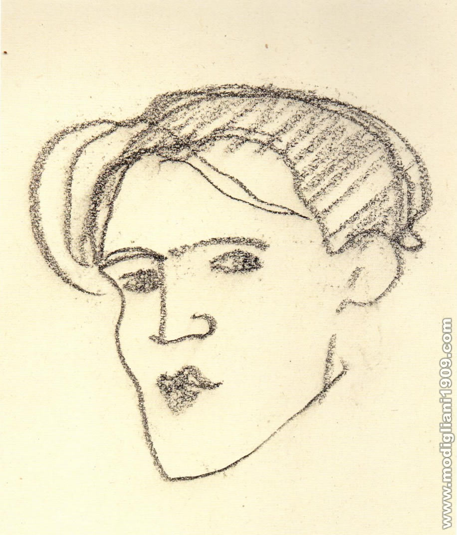 Autoritratto di Modigliani