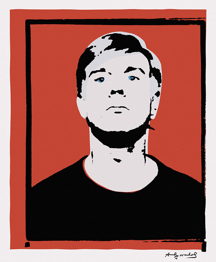 A silkscreen print that the Andy Warhol Foundation refused to authenticate