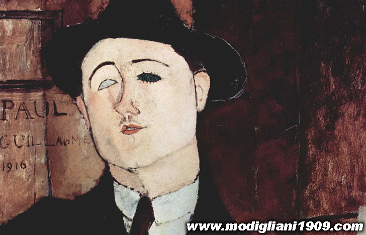 Modigliani, gentiluomo dell'arte, di Paul Guillaume - Les Arts à Paris - novembre 1920