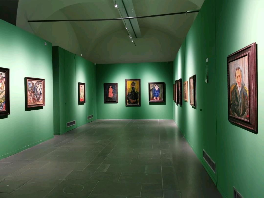 The room with Soutine's works