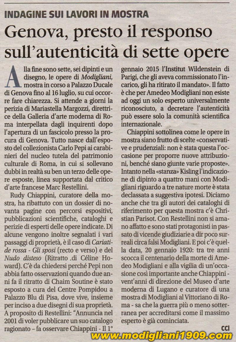 La Vena Artistica Genova modigliani a genova: il più grande scandalo intorno a modigliani