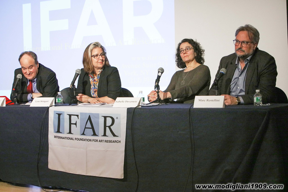 International Foundation for Art Research - Photos from the IFAR Evening on Modigliani April 24, 2018